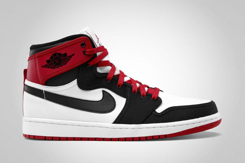 Air Jordan 1 KO - White/Black/Varsity Red