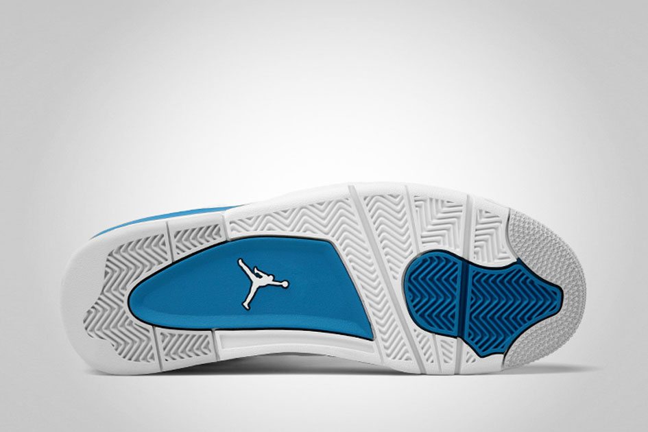 "Air Jordan 4 Retro ""Military Blue"" Retro 2012-1"