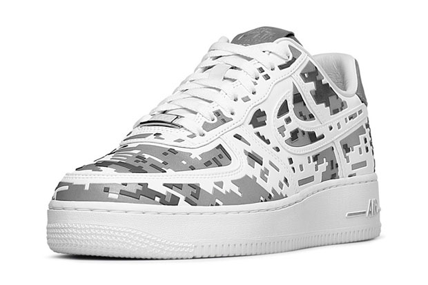 """Nike Air Force 1 Premium 08 """"XXX Anniversary"""" High-Frequency Digital Camouflage-2"""