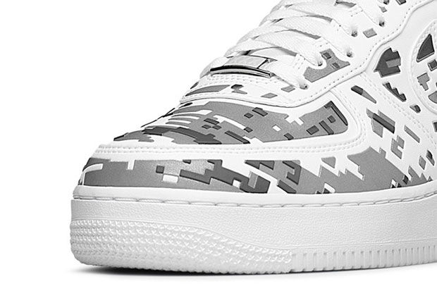 """Nike Air Force 1 Premium 08 """"XXX Anniversary"""" High-Frequency Digital Camouflage-3"""