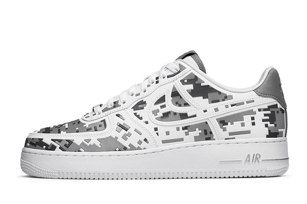"""Nike Air Force 1 Premium 08 """"XXX Anniversary"""" High-Frequency Digital Camouflage"""