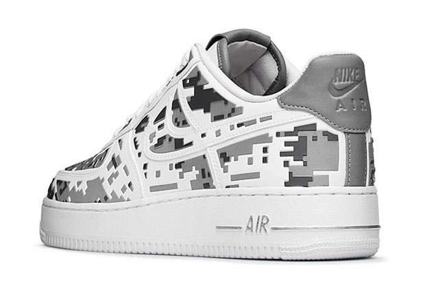 """Nike Air Force 1 Premium 08 """"XXX Anniversary"""" High-Frequency Digital Camouflage-6"""
