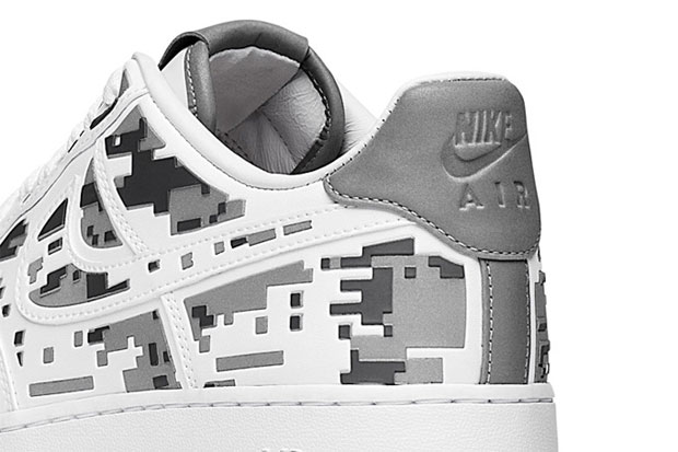 """Nike Air Force 1 Premium 08 """"XXX Anniversary"""" High-Frequency Digital Camouflage-7"""