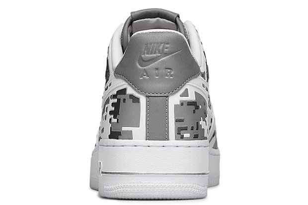 """Nike Air Force 1 Premium 08 """"XXX Anniversary"""" High-Frequency Digital Camouflage-8"""