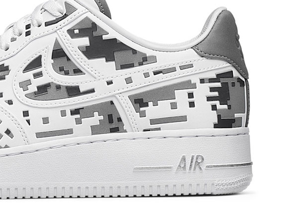 """Nike Air Force 1 Premium 08 """"XXX Anniversary"""" High-Frequency Digital Camouflage-9"""