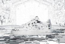 """Nike Air Force 1 Premium 08 """"XXX Anniversary"""" High-Frequency Digital Camouflage-1"""