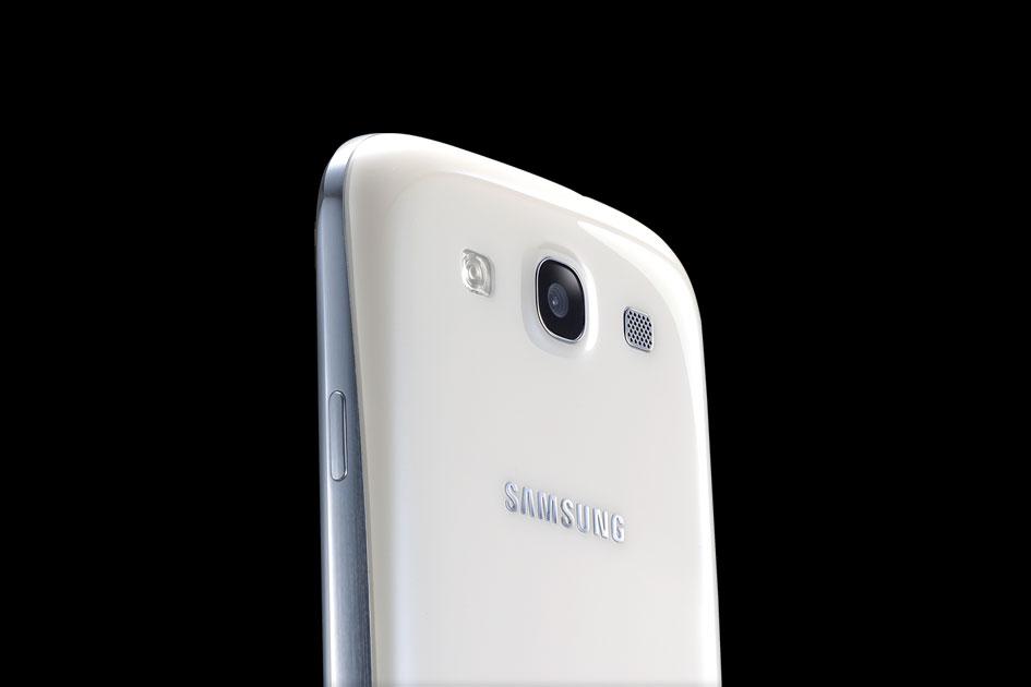 Samsung Galaxy SIII Marble White-1