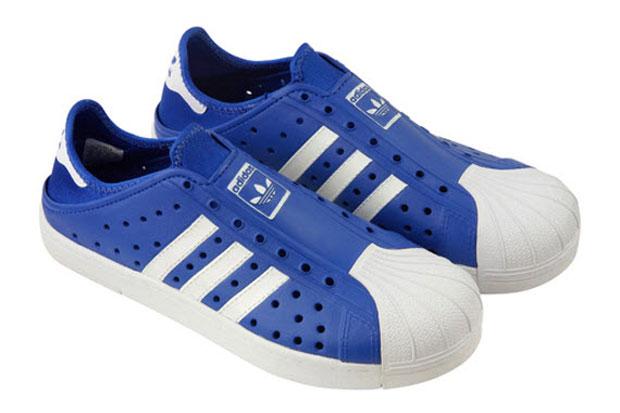 adidas Originals Beachstar Blanc/Bleu