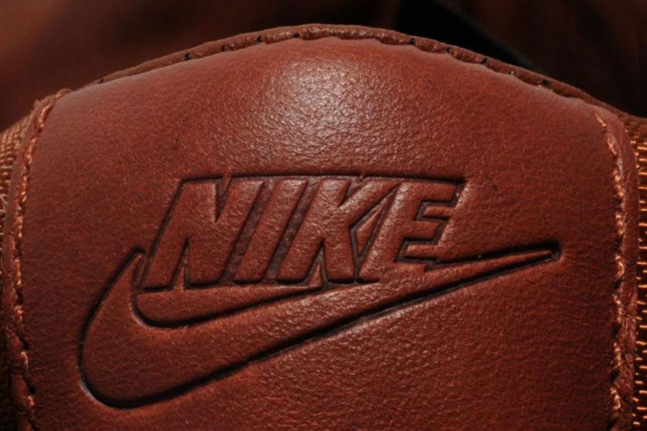 Nike Blazer Premium Leather (Pony Brown/White) - size? Exclusive-2