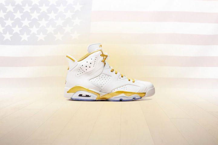 Air Jordan 6 Golden Moments Pack