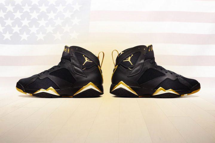 Air Jordan 7 Golden Moments
