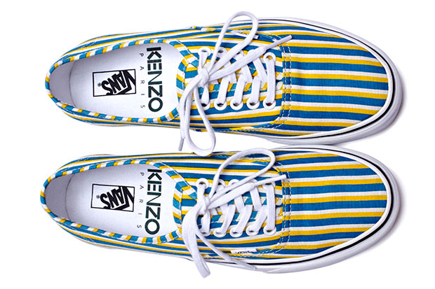 Kenzo x Vans Authentic Stripes - Automne/Hiver 2012