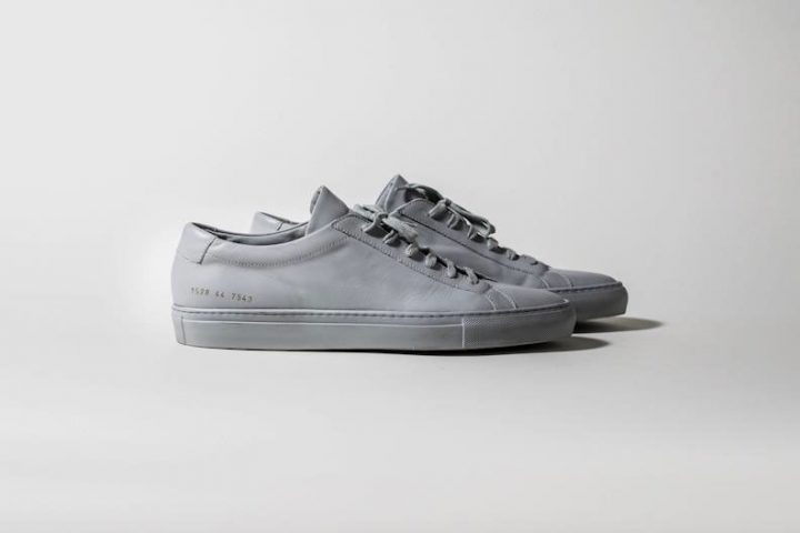 Common Projects Original Achilles Low Grey - Automne/Hiver 2012