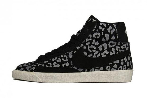 Nike Blazer Mid Leopard Print Noir - Printemps/Ete 2012