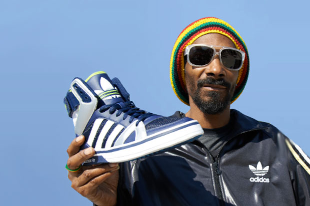 Snoop Lion - adidas Space Diver - Navy/White/Electricity