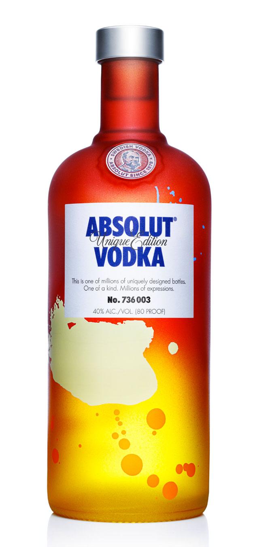 Absolut Vodka 'Unique Edition' 2012-1