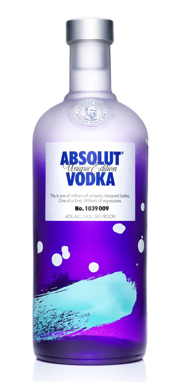 Absolut Vodka 'Unique Edition' 2012-2