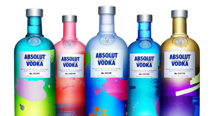 Absolut Vodka 'Unique Edition' 2012