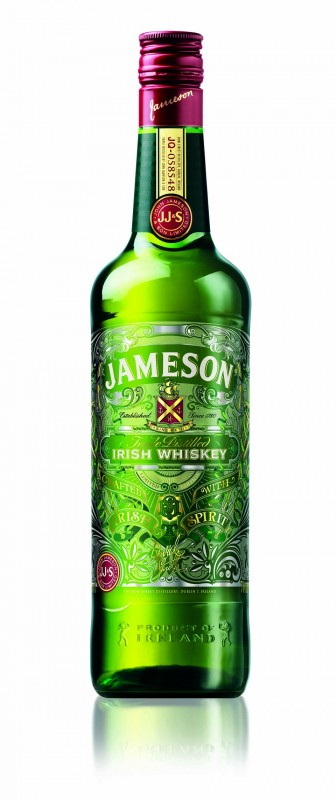 Whiskey Jameson par David Smith pour la Saint-Patrick 2013