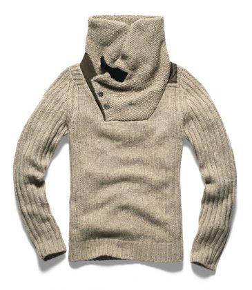 G-Star-Winter-2014-Contrast-Shawl-Collar-Knit-LS
