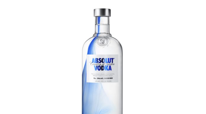 Bouteille Absolut Vodka Originality 2013