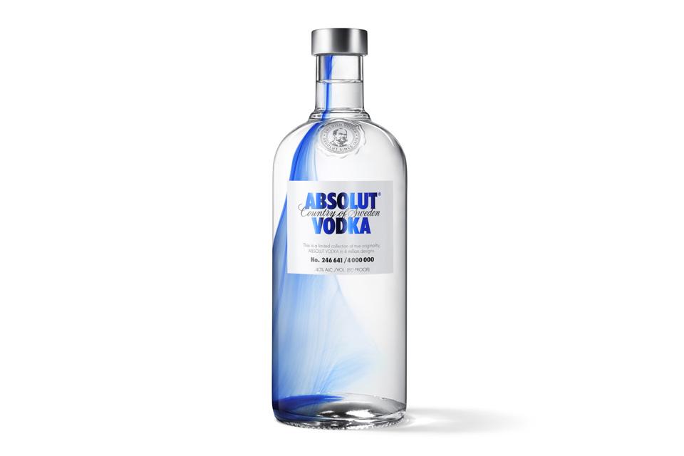 Bouteille Absolut Vodka Originality 2013