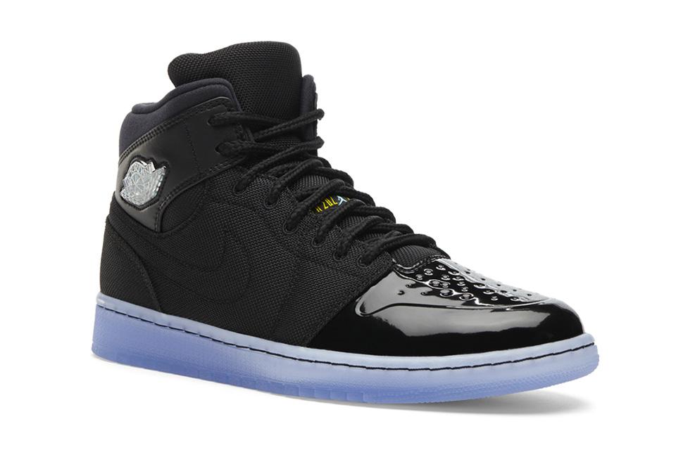Air Jordan 1 RETRO '95 TXT - Noir/Gamma Blue