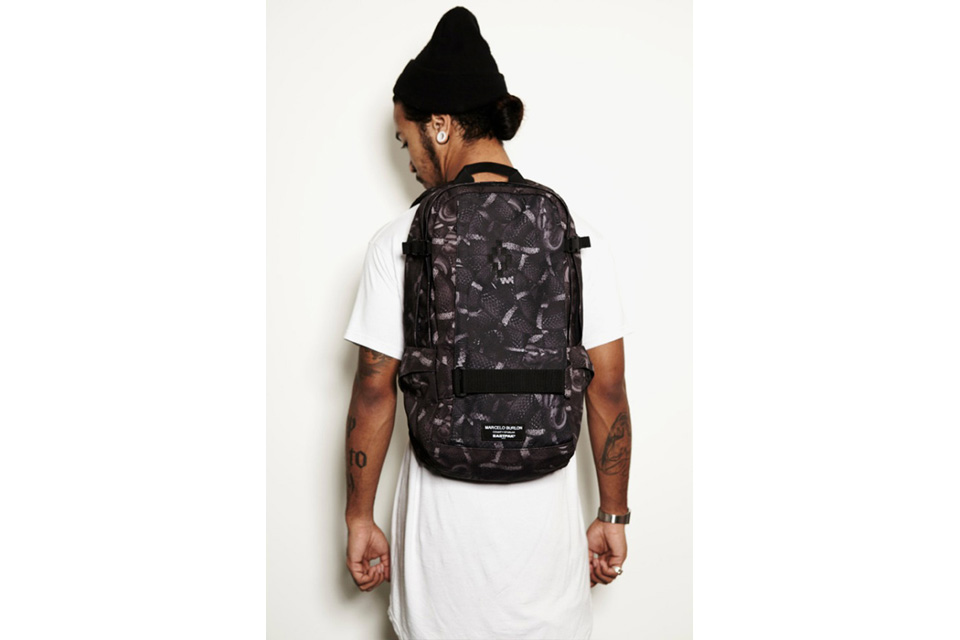 Sac à dos x Marcelo Burlon collection 2014