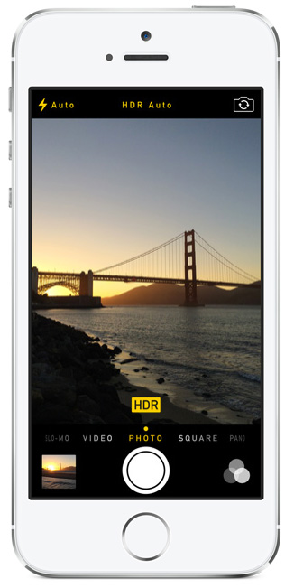 Apple Mise a jour iOS 7.1 HDR Photo iPhone 5s