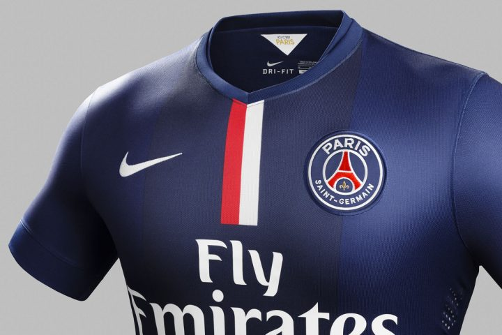 Nouveau maillot psg domicile 2014/2015