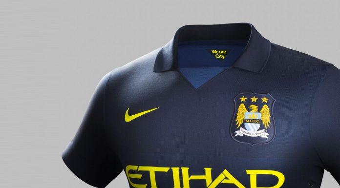 Maillot Extérieur Manchester City 2014/2015 Football