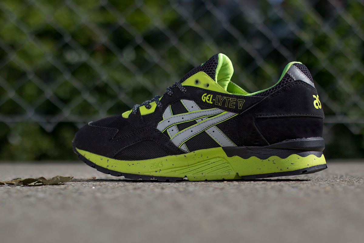 ASICS Gel Lyte 5 (Black/Soft Grey/Lime)