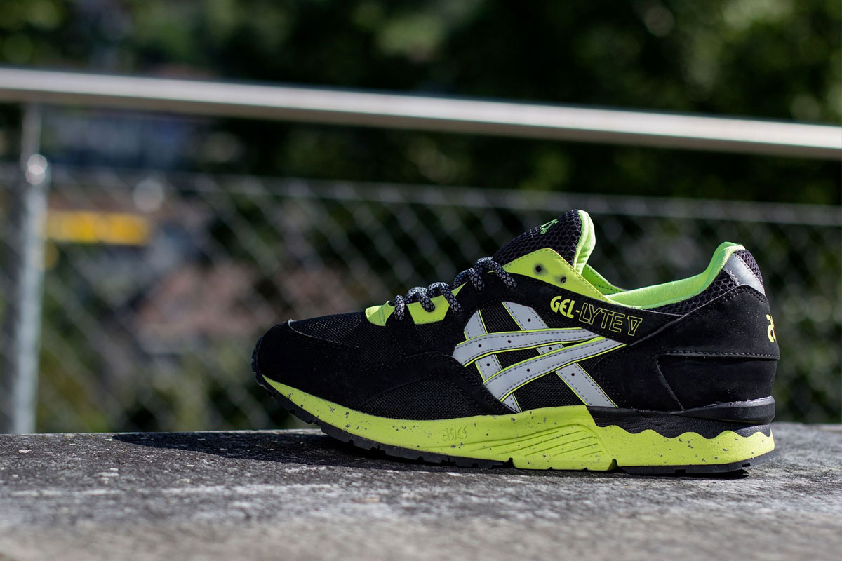 ASICS Gel Lyte V (Black/Soft Grey)-1