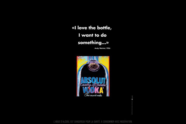 Absolut Vodka Andy Warhol 2014