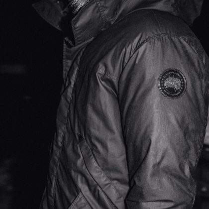 Canada Goose x Wings+Horns Decade Parka Noire