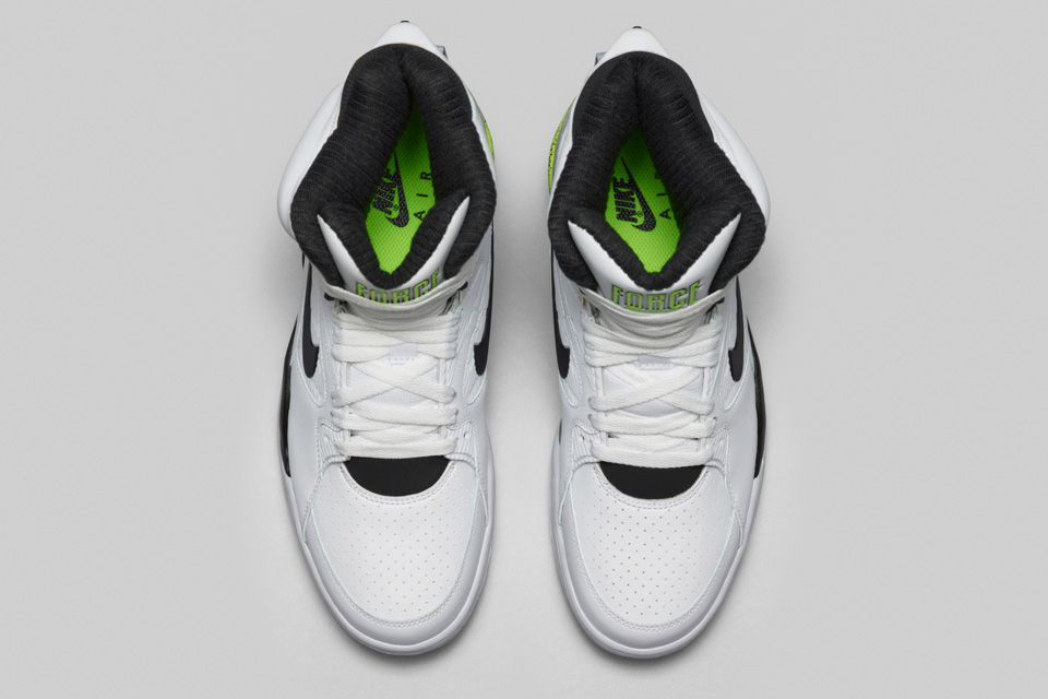Nike Air Command Force Retro White Black/Wolf Grey-Volt