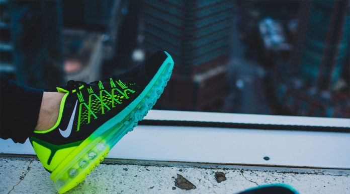 Nike Air Max 2015 (Black/Volt/Hyper Jade/White) 'Dare To Air'-7