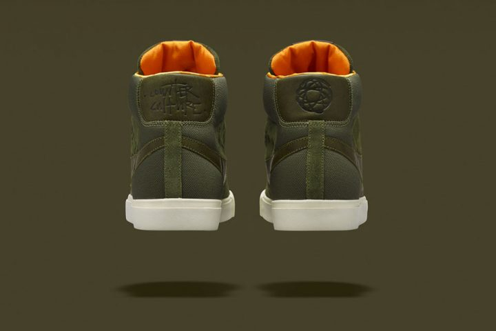 Nike Blazer Mid (Olive) x Mo'Wax by James Lavelle-1