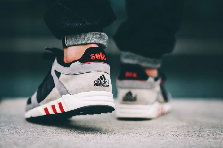 Solebeox x adidas EQT Guidance 93 Noir/Rouge