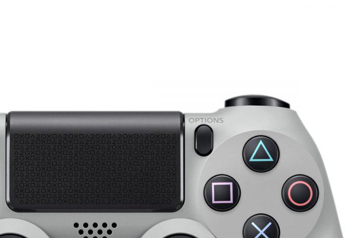 Manette PS4 Grise - Anniversaire 20 ans de la PlayStation-2