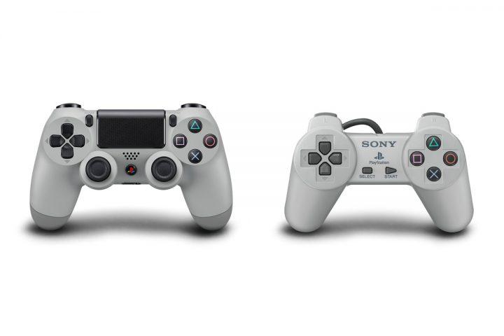 Manettes PS4 Grise - Anniversaire 20 ans de la PlayStation