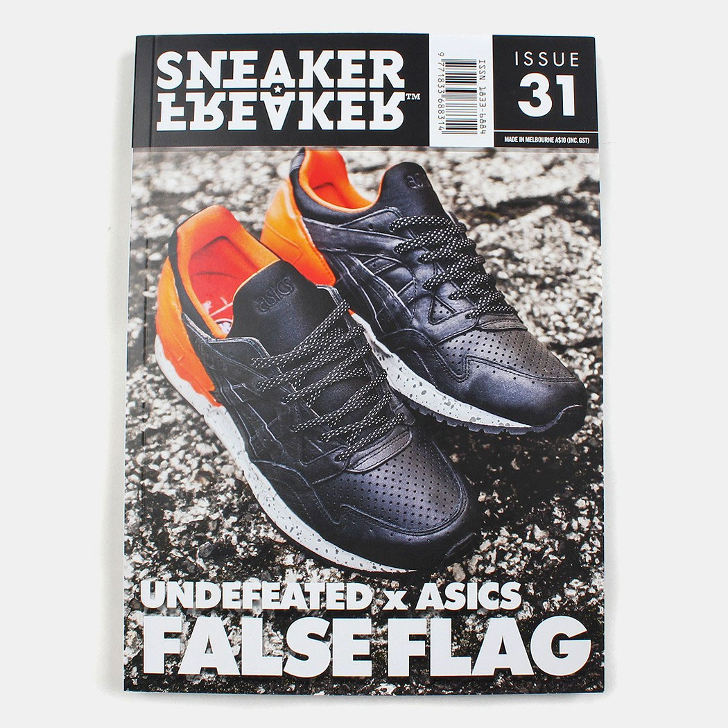 Undefeated x ASICS Gel Lyte V (5) 'False Flag'-Sneaker Freaker-2