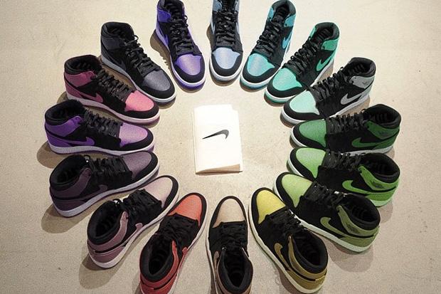 Air Jordan 1 2015 'Rainbow' Pack