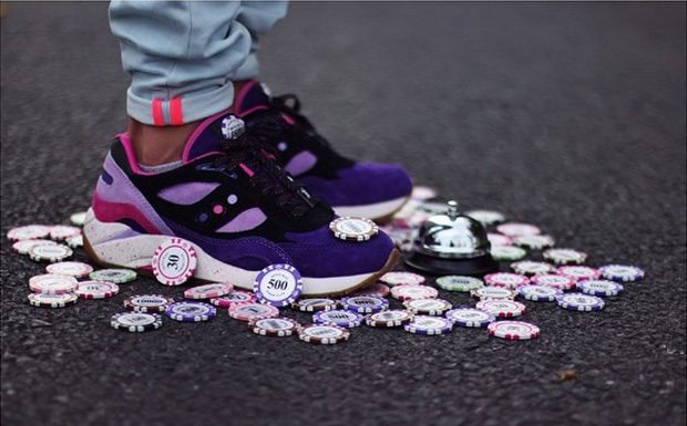 Feature x Saucony G9 Shadow 6 'The Barney'-1