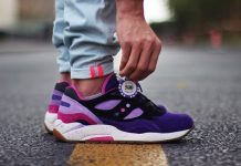 Feature x Saucony G9 Shadow 6 'The Barney'