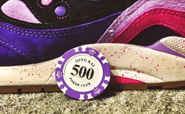 Feature x Saucony G9 Shadow 6 'The Barney'-3