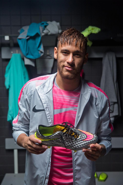 Crampons Neymar Jr. x Nike Hypervenom 'Liquid Diamond'-7