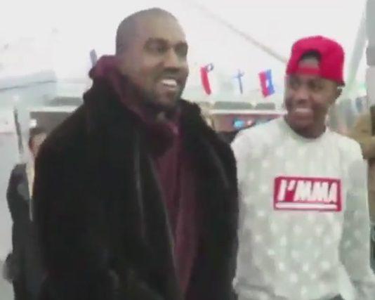Kanye West demande a un fan de jeter ses Nike contre ses Yeezy Boost