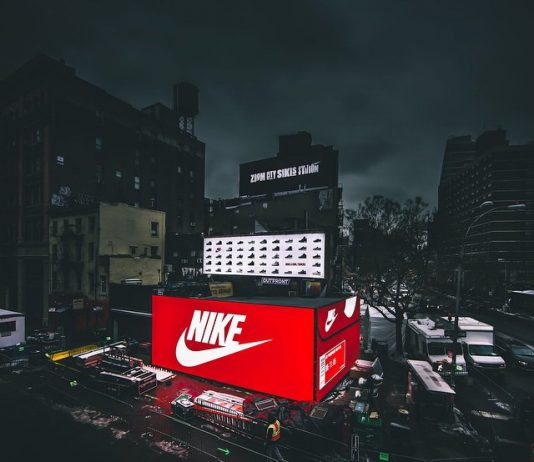 Nike Pop-up Box Store Mercedes Benz Fashion Week
