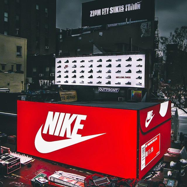 Nike Pop-up Box store Bowery & Great Jones St.